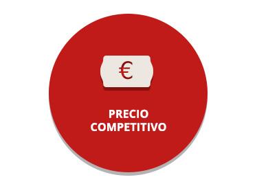 Precio competitivo